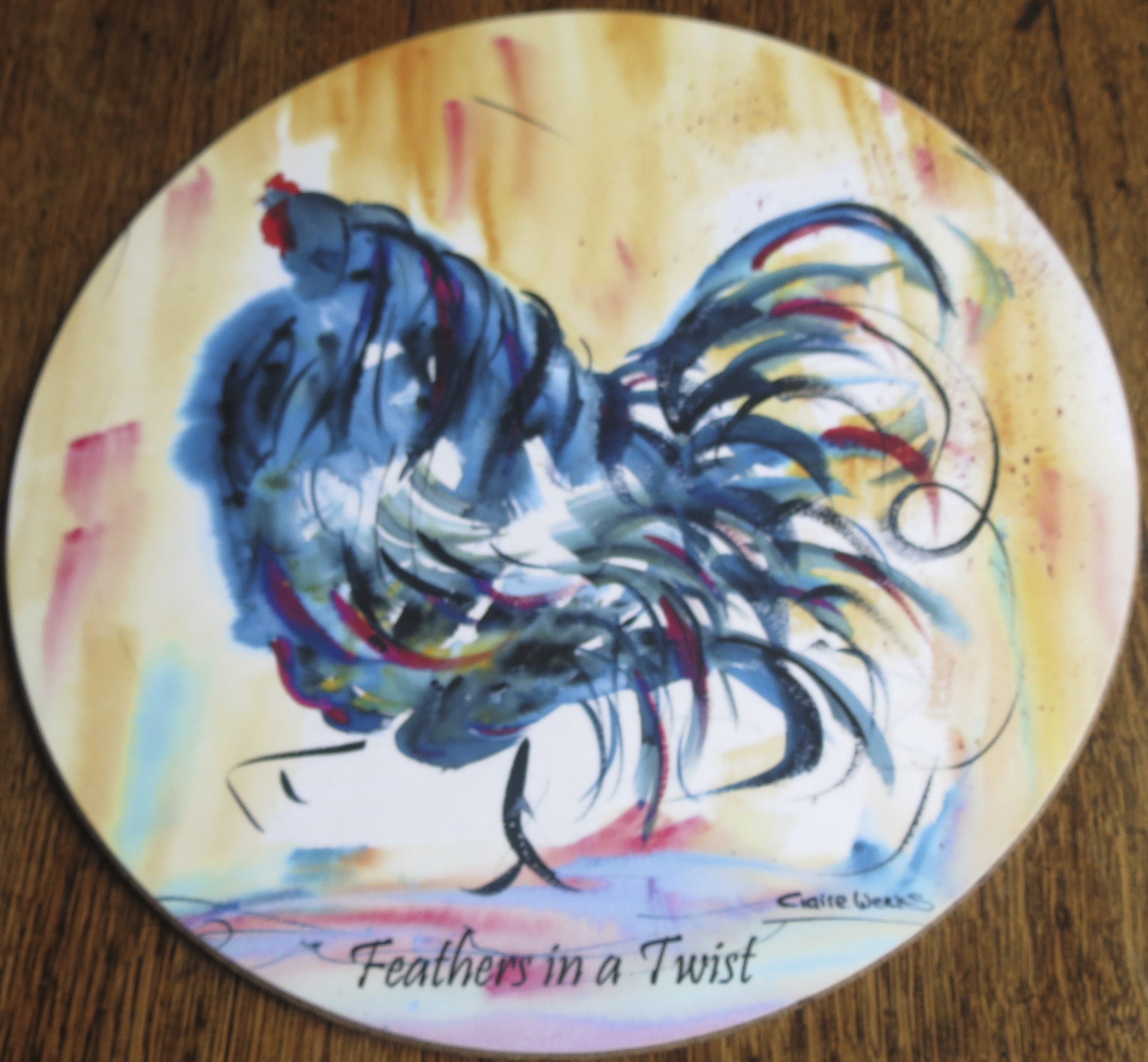 feathers in a twist
