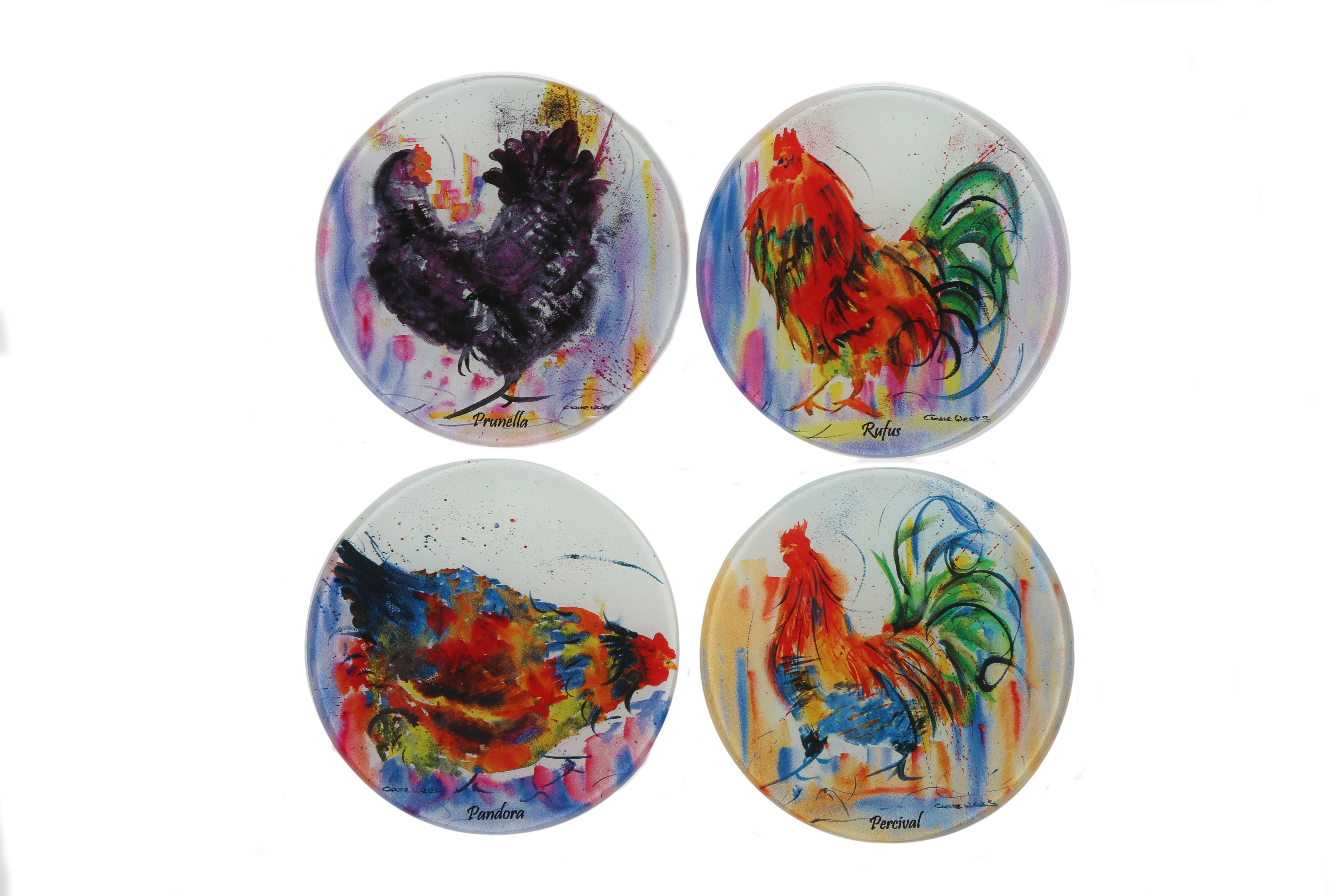 Melamine Coasters Pack A